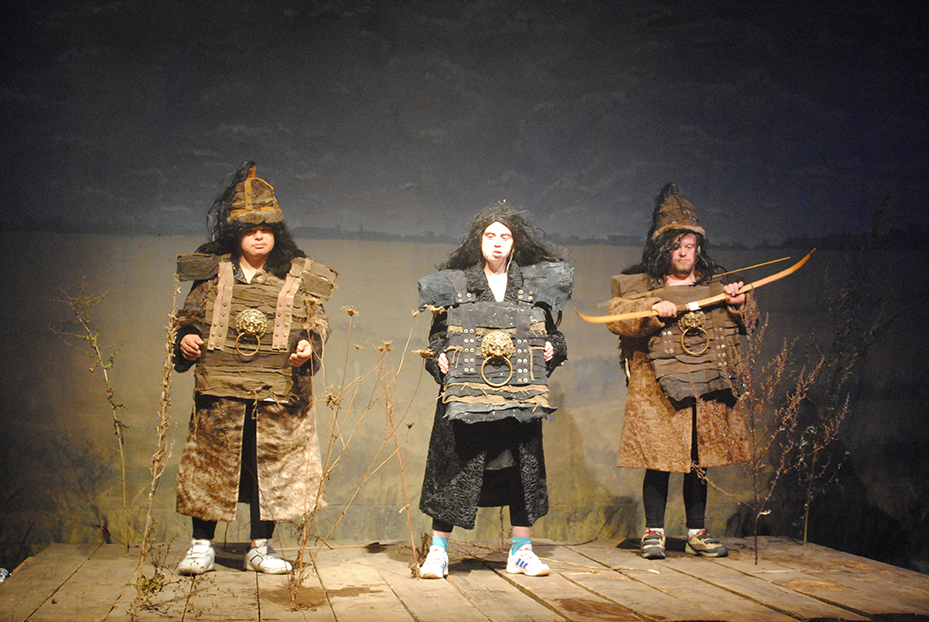 So lebten die Mongolen? © Marie Tollkühn