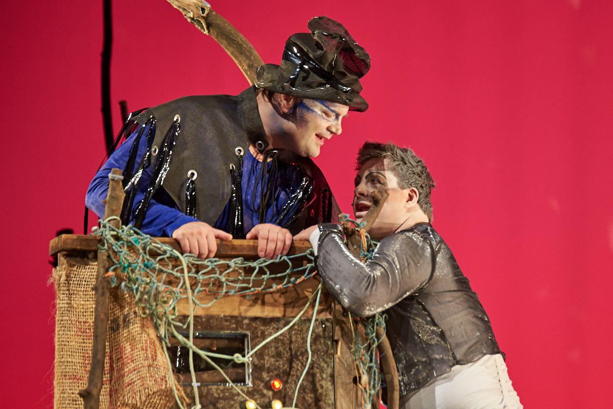 Prospero und der versklavte Luftgeist Ariel